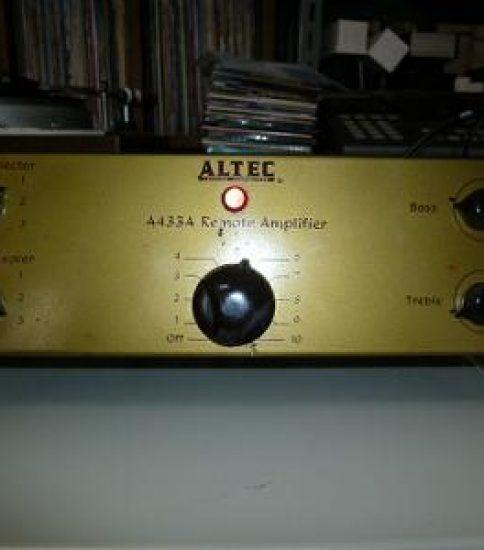 ALTEC A433A Mono Pre amplifier ¥171,200