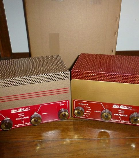 Northern Electric HF130 Amplifiers ¥216,000/Pair