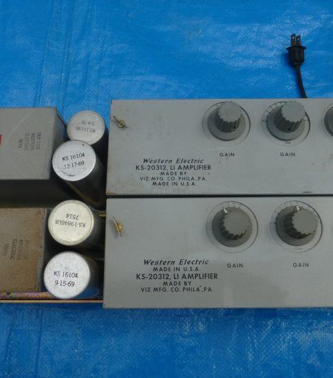 Western Electric KS-20312 Line Amplifiers ¥151,200/Pair