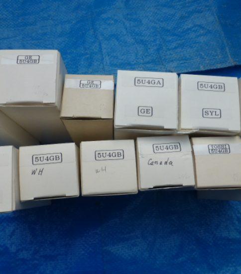 USA 5U4GB Tubes ¥4,320/Each