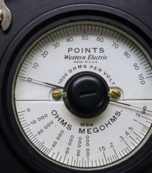 Western Electric M-9A Volt Ohm Meter ¥32400