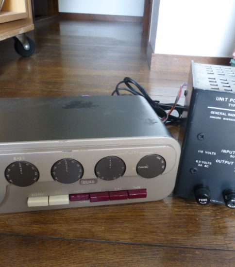 Quad 22 Preamplifier with power supply ¥129,600