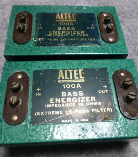 Altec 100A Bass Energizer ¥32,400/Pair