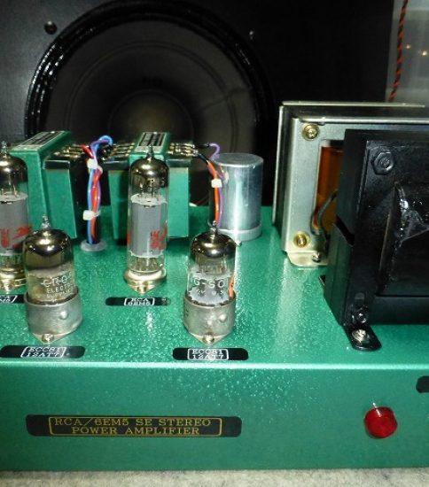 Custom made 6EM5 SE Stereo Power Amplifier ¥97,200