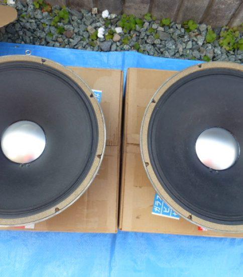 """JBL D130 15"""" Fullrange speakers ¥108,000/Pair"""