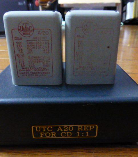 UTC A20 Input Trabsformers ¥43,200
