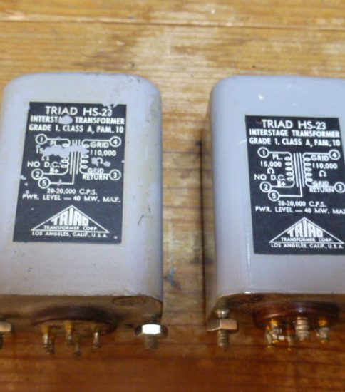 Triad HS-23 Interstage Transformers ¥129,600/Pair