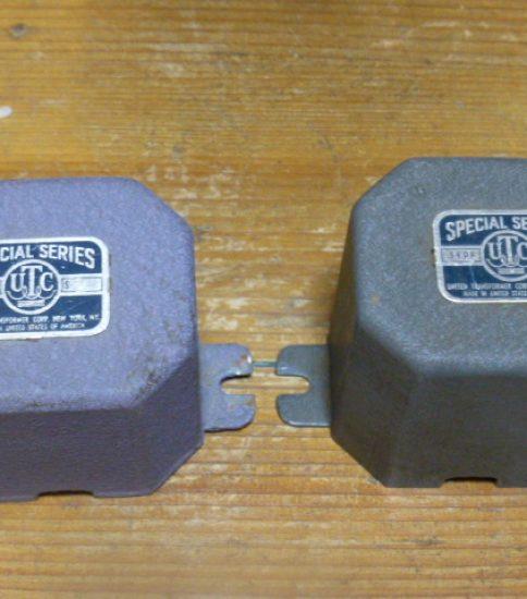 UTC S-2 Interstage Transformers ¥54,000/Pair