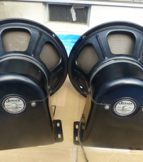 Jensen A12 Field coil type speakers ¥270,000/Pair