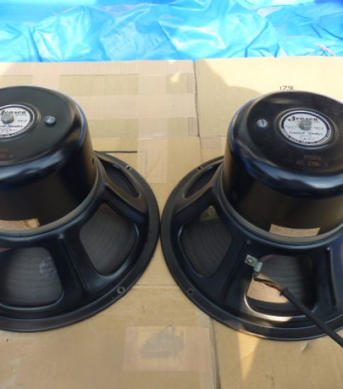 Jensen A12 Field coil type speakers ¥162,000/Pair