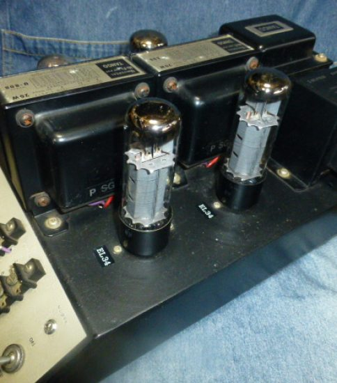 EL34 single stereo power amplifier ¥86,400