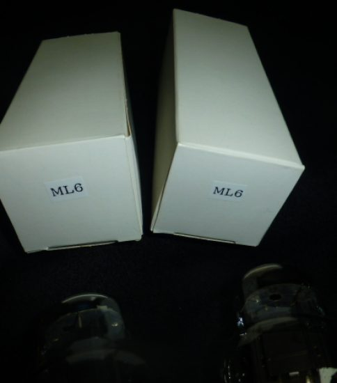 ML6 tubes ¥Sold out!!