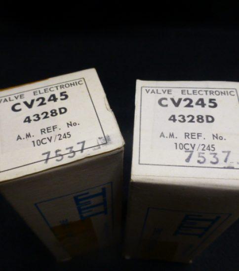 STC 4328D tubes NIB ¥43,200/Pair