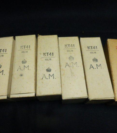 A.M. KT41 tubes NIB ¥7,560/Each