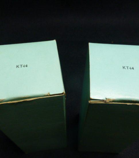 Osram KT44 Tubes NIB ¥32,400/Pair