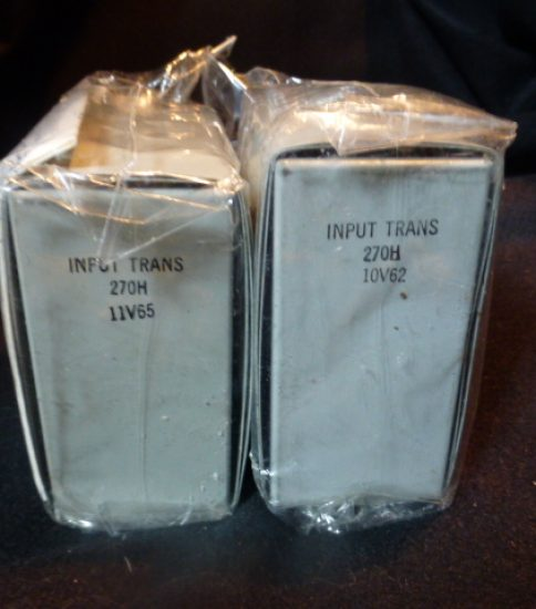 Western Electric 270H Input Transformers ¥108,000/Pair