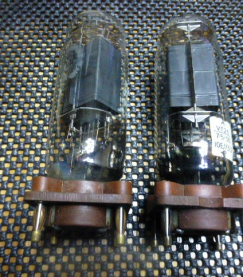 VT25 10E/7312 tubes NIB ¥43,200/Pair