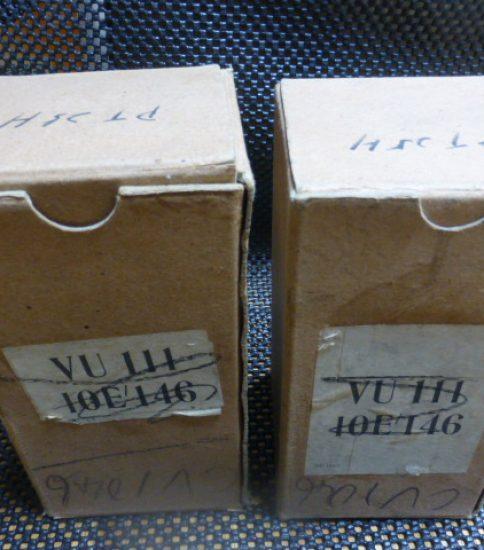 V.T.46/PT25H tubes NIB ¥64,800/Pair