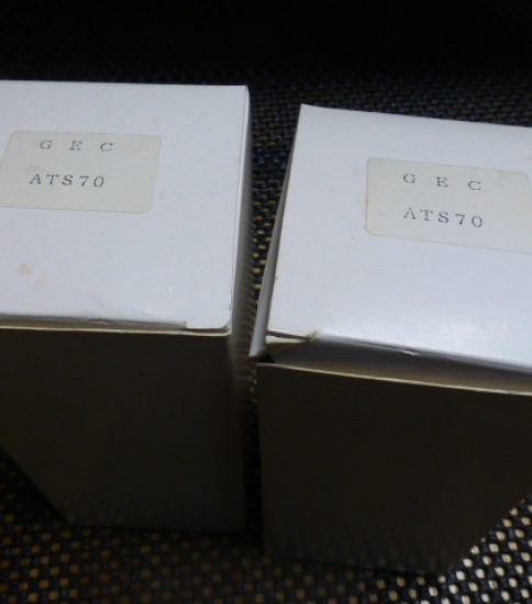 ATS70 tubes NIB ¥43,200/Pair