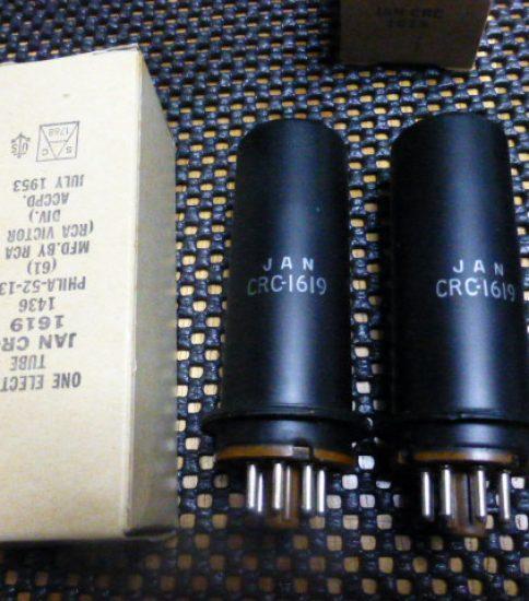 RCA 1619 tubes NIB ¥3,240/Each