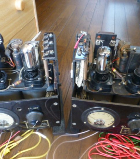 Western Electric 49 Amplifiers ¥864,000/Pair