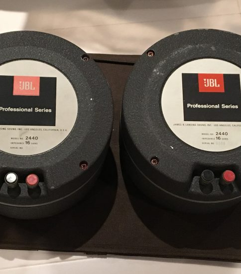 JBL 2440 Drivers with 375 Diaphragm ¥324,000/Pair
