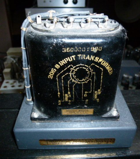 Western Electric 205B Input Transformer ¥Ask!!