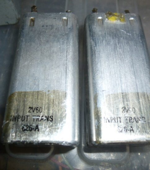 Western Electric 626A Input Transformers ¥54,000/Pair