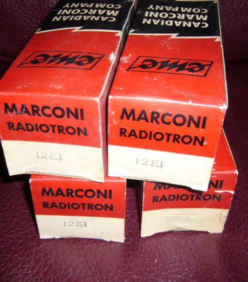 Marconi 12E1 Power Tube ¥6,480/Each