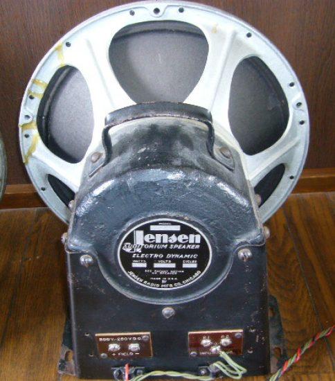 Jensen M20 Field coil Speaker ¥432,000