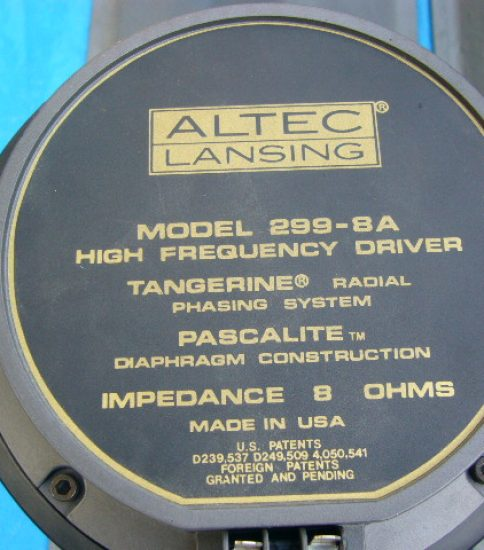 Altec 299-8A 1.5″ Drivers ¥162,000/Pair
