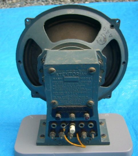 Stentrian Baby 16cm Speaker ¥Sold out!!