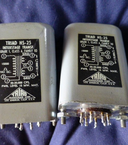 Triad HS-25 Interstage Transformers ¥129,600/Pair