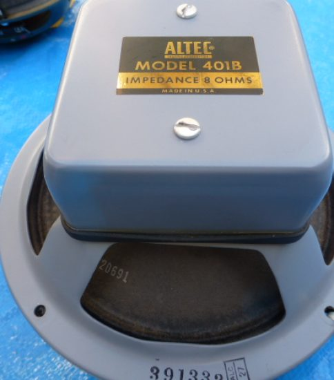 Altec 401B 8″ Speakers ¥75,600/Pair
