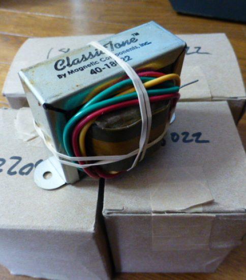 5E3 Output Transformers for Fender Cahmp ¥32,400/Pair
