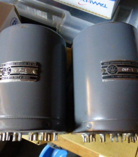 UTC CG-19 Output transformers ¥97,200/Pair