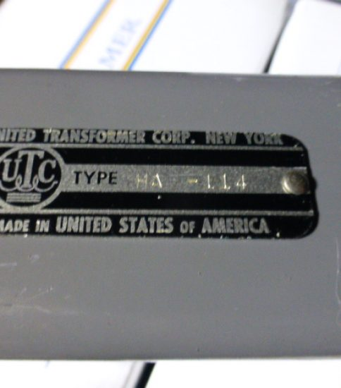 UTC HA-114 Output Transformer ¥43,200