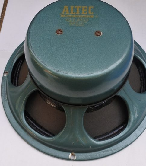 Altec 412A 12″ Biflex Speaker ¥Sold out!!