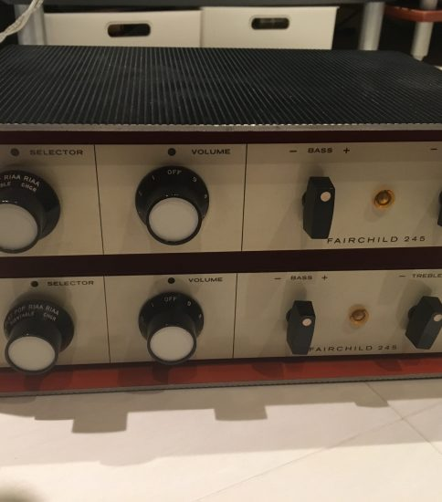 Fairchild 245 Preamplifiers ¥298,000/Pair