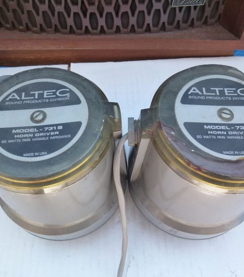 Altec 731B Drivers ¥43,200/Pair
