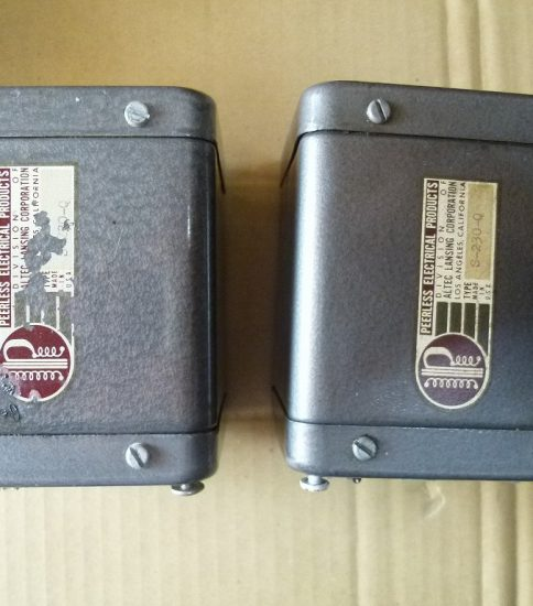 Peerless S230Q Output transformers ¥151,200/Pair