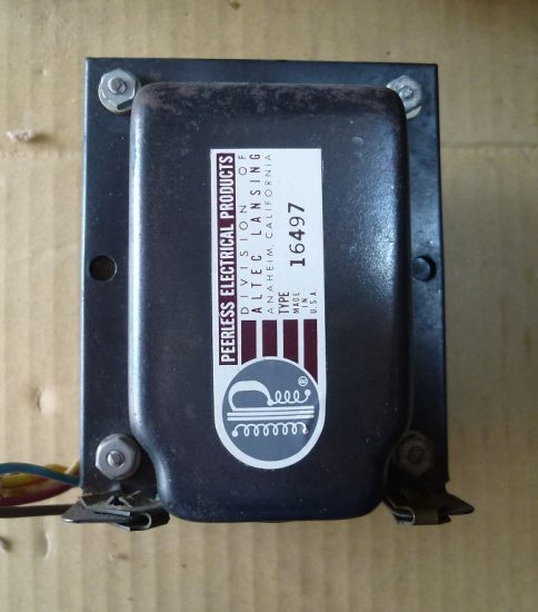 Peerless 16497 Output Transformer ¥27,000