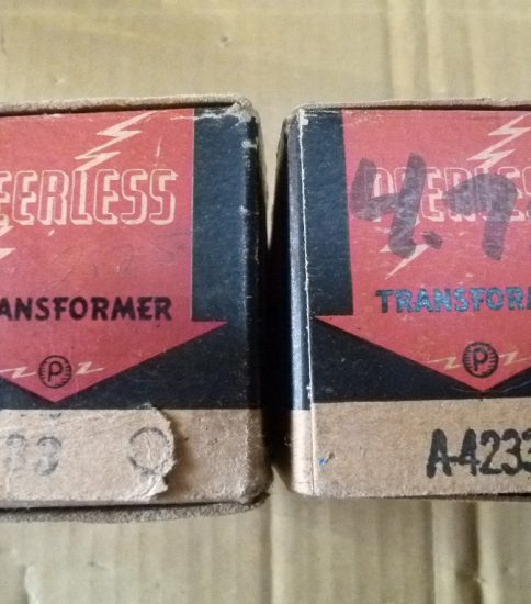 Peerless A-4233Q Repeating transformers NIB ¥63,000/Pair