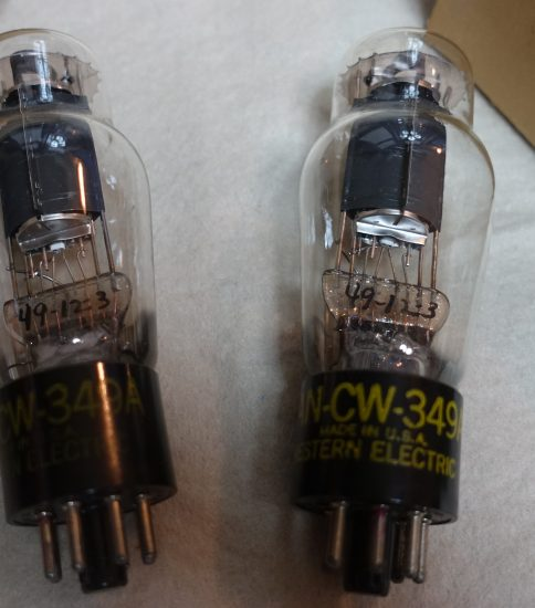 Western Electric 349A Tubes ¥75,600/Each