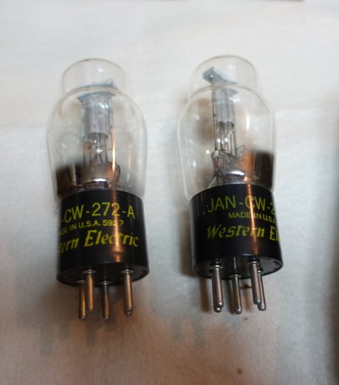 Western Electric 272A tubes ¥43,200/Each