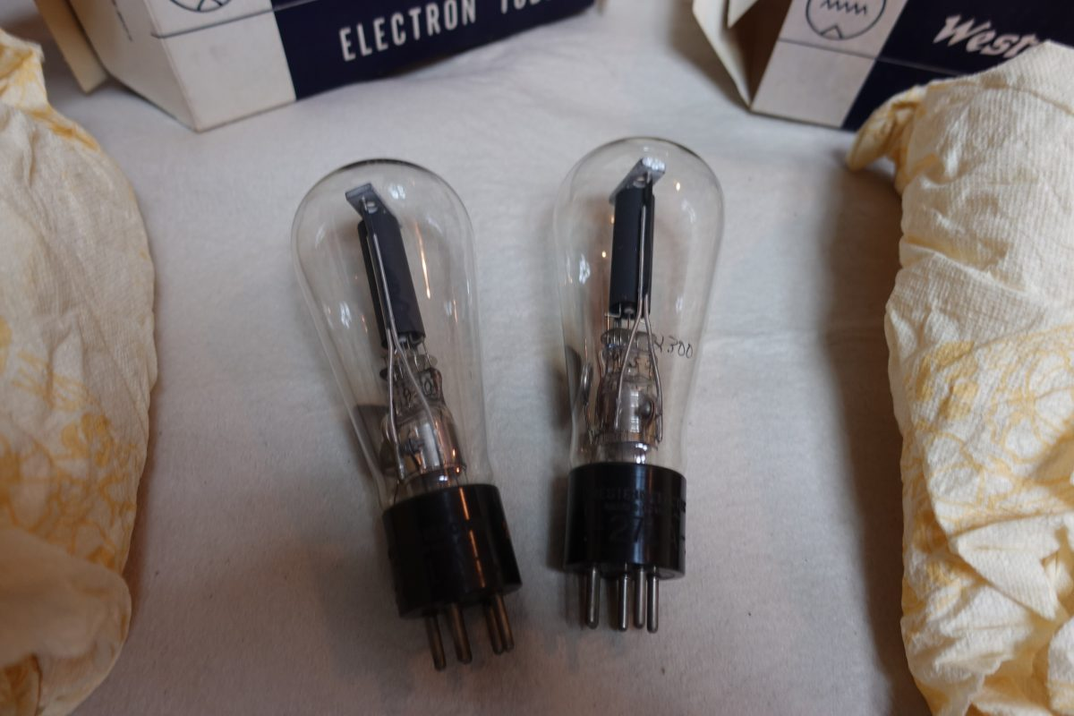 Western Electric 271A tubes ¥Ask!!