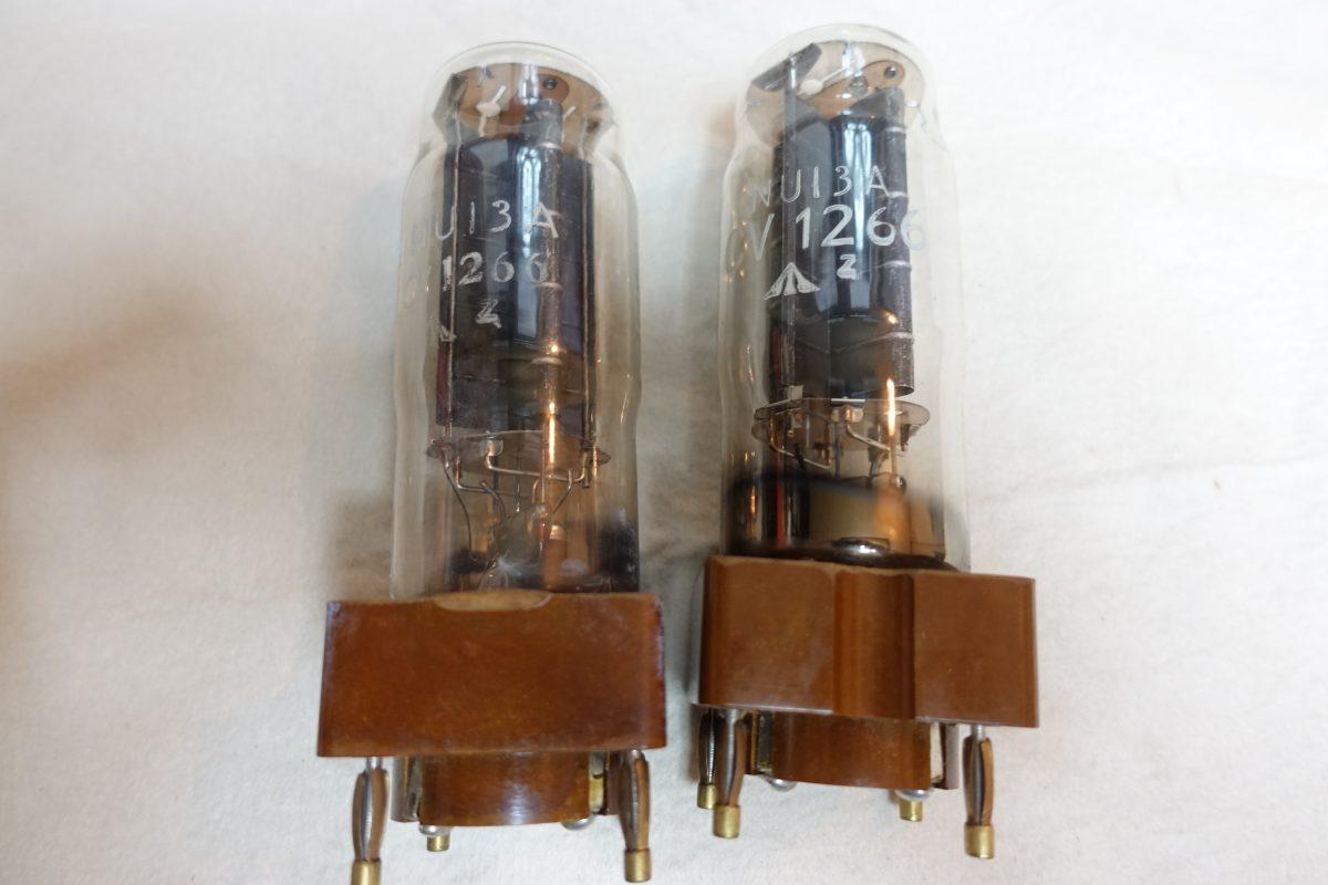 Osram NU-13A/CV1266 harf-wave rectifier tubes ¥21,600/Each