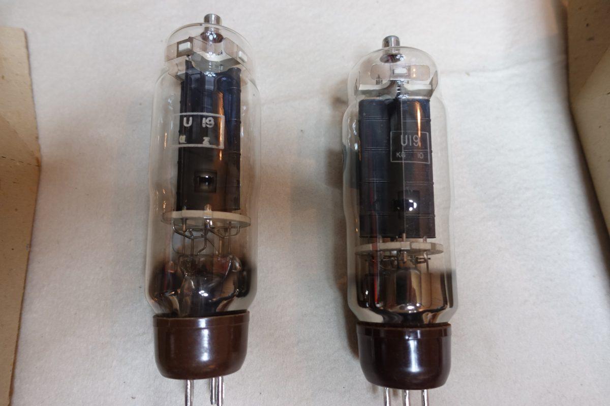 Osram U-19 Rectifier tubes ¥10,800/Each