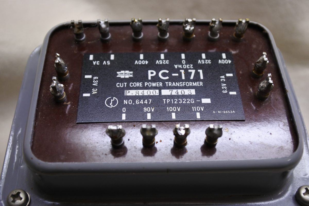 Tamradio PC-171 Power Transformers ¥48,600