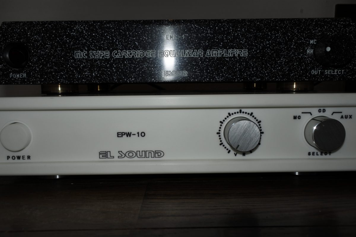 EL sound MC EQ+Stereo Premainanplifier ¥Sold out!!